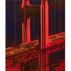 Piotr Szczur (ur. 1987) - Czerwony most, 2019