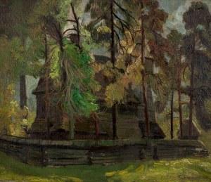 Tadeusz Szczerbiński (1898–1991), Drewniany kościół w Rabce Zdroju, 1935 r.