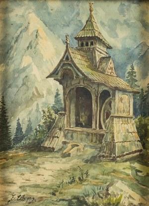 Erno Erb (1878 lub 1890 Lwów – 1943 tamże), Studnia w Tatrach, 1919 r.
