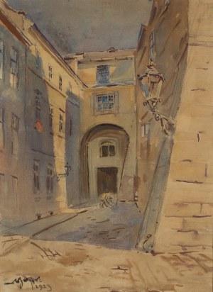 Adam Batycki (1886–1970), Zaułek staromiejski, 1929 r.