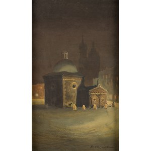 Stanisław Fabijański (1865 Paryż – 1947 Kraków), Kościół Św. Wojciecha na Rynku Głównym w Krakowie
