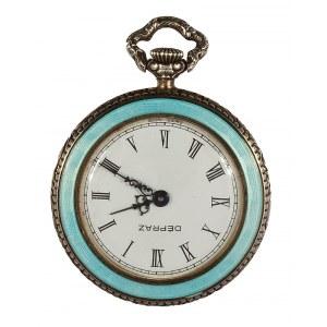 Zegarek kieszonkowy z motywem wagi, XIX/XX w.
