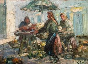 Erno Erb (1878 lub 1890 Lwów – 1943 tamże) Przekupki