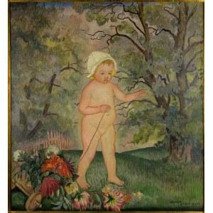 Kazimierz Sichulski (1879 Lwów – 1942 tamże) W ogrodzie, 1927 r.