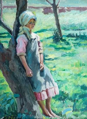 Stanisław Borysowski (1901 Lwów – 1988 Toruń) Dziewczynka