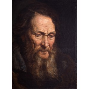 Franciszek Streitt (1839 Brody – 1890 Monachium) Portret mężczyzny, 1867 r.