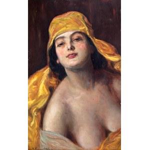Józef Męcina-Krzesz (Kraków 1860 – Poznań 1934) Portret kobiety