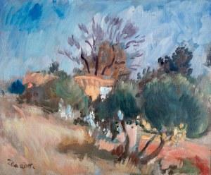 Wacław Zawadowski (1891 Skobiełka/Wołyń – 1982 Aix-en- Provence) Pejzaż z południa Francji
