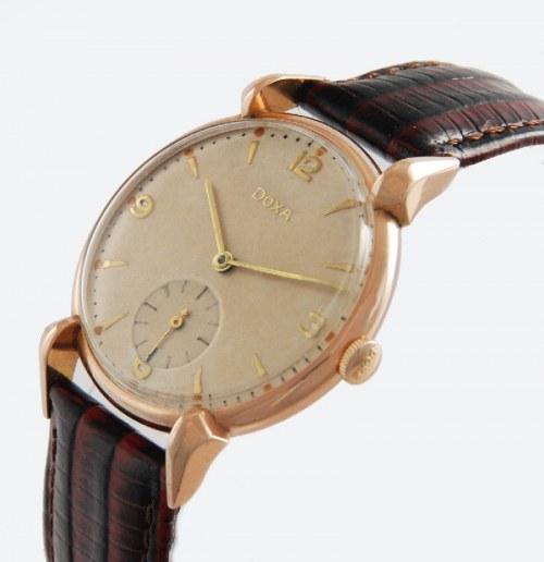 Firma DOXA (zał. 1889, nazwa 1910), Zegarek naręczny, męski