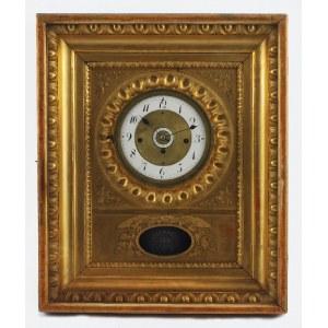 Josef PITA, Zegar ścienny, ramowy, z kluczykiem
