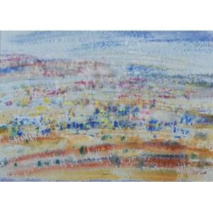 Sylwester PIĘDZIEJEWSKI (ur. 1966), Pejzaż z Jerozolimy