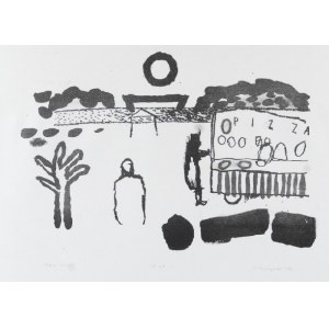 Mariusz WOSZCZYŃSKI (ur. 1965), Beach - Boulevard, 1999