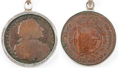 WISIOR Z TROJAKIEM, Stanisław August Poniatowski 1766