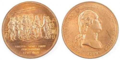 Medal GEORGE WASHINGTON, 1971