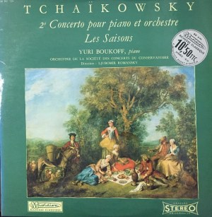 Piotr Czajkowski, II koncert fortepianowy G-dur op. 44, Pory roku, wyk. Yuri Boukoff