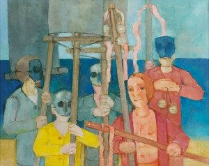 Kiejstut BEREŹNICKI (ur. 1935), Karnawał z żółtą dominantą