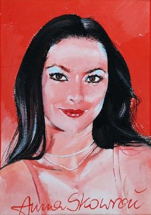 Waldemar ŚWIERZY (1931-2013), Portret Anny Skowron