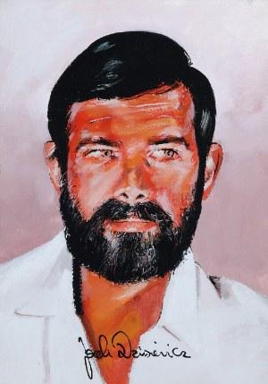 Waldemar ŚWIERZY (1931-2013), Portret Jacka Dziesiewicza