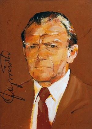 Waldemar ŚWIERZY (1931-2013), Portret Janusza Cywińskiego