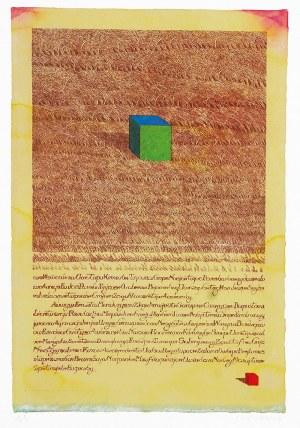 Jan SAWKA (1946-2012), Projekt ilustracji do książki