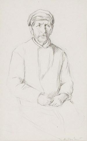 Henryk BERLEWI (1894-1967), Siedzący Żyd, przed 1939