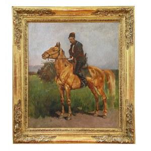Józef CHEŁMOŃSKI (1849-1914), Zaporożec – studium, ok. 1873