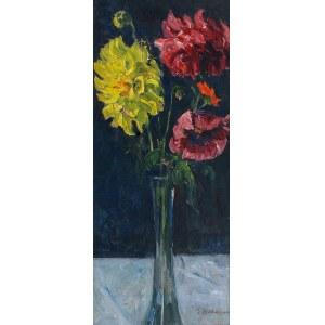 Georg WICHMANN (1876-1944), Kwiaty w szklanym wazonie