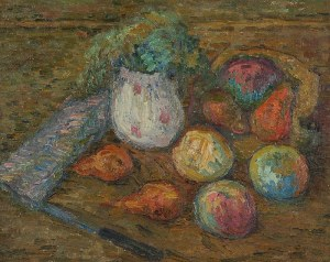 Jan CYBIS (1897-1972), Martwa natura, lata 50. XX w.