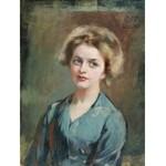 Wacław Franciszek PAWLISZAK (1866-1905), Portret kobiety