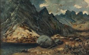 Stanisław BIECHOŃSKI (1902-1975), Widok na Dolinę Pięciu Stawów
