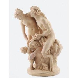 Michel CLAUDE – CLODION (1738-1814) - według, Rodzina Fauna