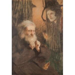 Teodor Axentowicz, Wizja - wspomnienie, po 1900.