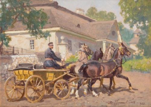 Zygmunt Rozwadowski, Dorożka, 1925