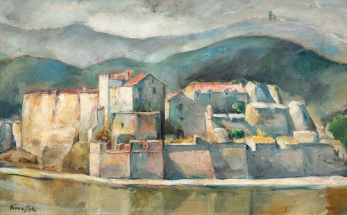 Roman Kramsztyk, Pejzaż z Collioure