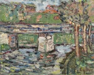Jan Cybis, Most na Popradzie, 1964
