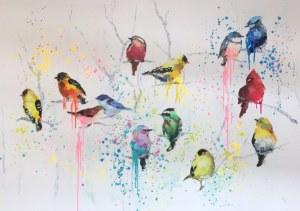Khrystyna Hladka, Wiosenne ptaki, 2019