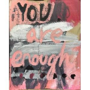 Ewa Budka, You are enough, New York, 2018
