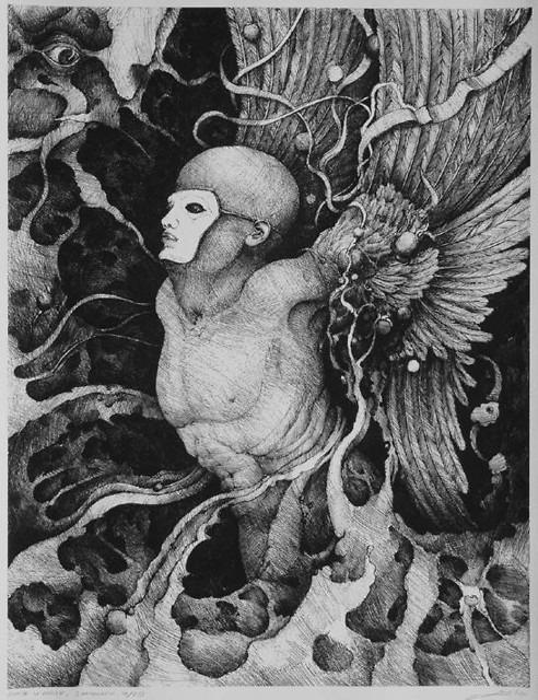 ORTHWEIN LUDWIK, Anioł w masce
