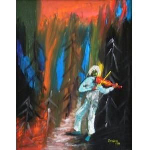 PACHLA ZENON  ZEN-STEIN, Muzyk i tło power