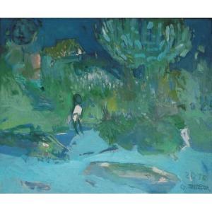 ZARZECKA GRAŻYNA, Chłopczyk nad rzeką