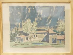 Benn Bencion Rabinowicz (1905-1989), Pejzaż