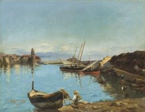 Alchimowicz Hiacynt, PORT W COLLIOURE, 1879