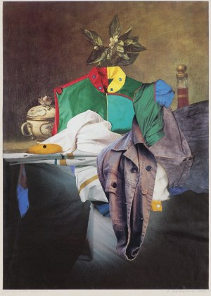 Cieślewicz Roman, NATURE MORTE DECOUSSUE, 1982