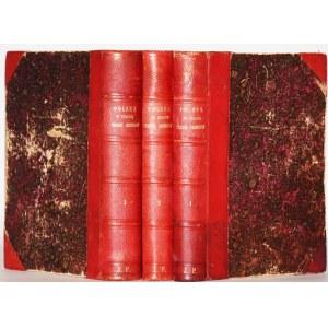 KRASZEWSKI JÓZEF IGNACY - POLSKA W CZASIE TRZECH ROZBIORÓW 1772-1799. Studya do historyi ducha i obyczaju. Studya do historyi ducha i obyczaju, 1-3 komplet.