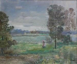 Tadeusz Roman (1906-1983), Spacer nad wodą