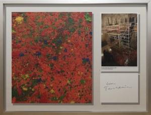 Leon Tarasewicz, Czerwony, z cyklu: obrazy poziome