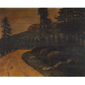 Albert KUNZE, GÓRSKA DROGA, 1929