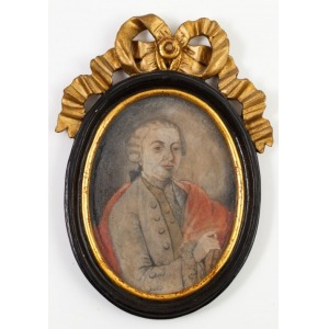PORTRET FRANZA BAADERA, poł. XVIII w.