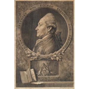 Daniel CHODOWIECKI, FRIEDRICH EBERHARDVON ROCHOW, 1777