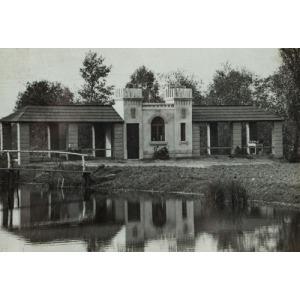PAWILON PARKOWY Z ZDUŃSKIEJ DĄBROWIE, 1925